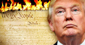 Donlad Trump Destroys Constitution